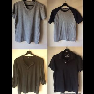 5 T-shirt fashion brand bundle